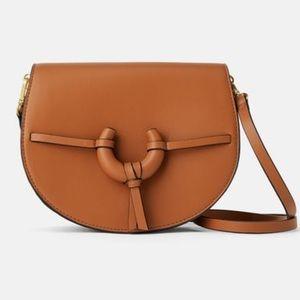 ZARA Crossbody bag with flap detail